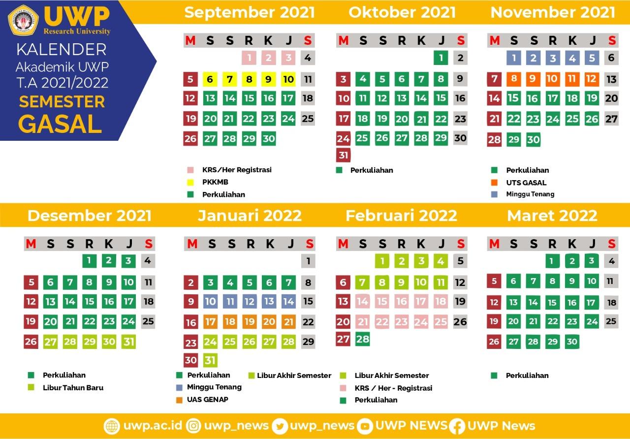 Academic Calendar 2020-2021 (Even Semester)
